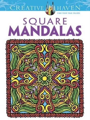 Creative Haven Square Mandalas Coloring