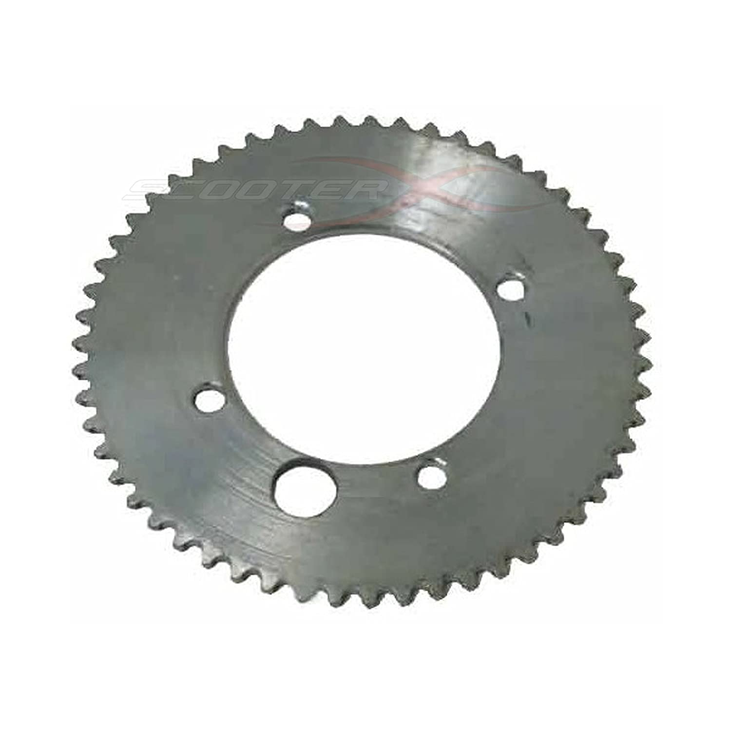 50 Caliber Racing 55 Tooth 45mm BCD 25H Chain Sprocket for Gas Scooter 4506 Gas Skateboard Pocket Bike Mini Chopper