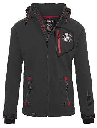 Chaqueta multifunción softshell impermeable para hombre de Geographical Norway