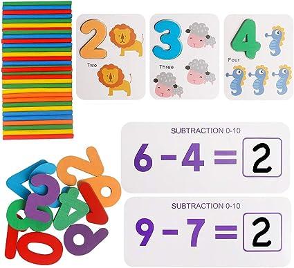 24 Piece Numbers Counting Preschool Kindergarden Kids Jigsaw Puzzle