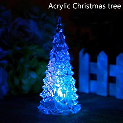 elever christmas led decoration santa claus christmas tree shape indoor decorations christmas led night light - Indoor Decorative Christmas Trees