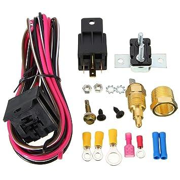 Laurelmartina Cableado del Ventilador eléctrico Kit de ...