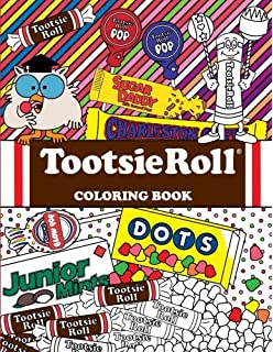 Tootsie Roll Coloring Book 24 Page