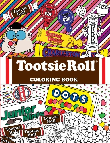 Tootsie Roll Coloring Book Page product image