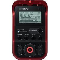 Roland R-07 draagbare audiorecorder met hoge resolutie rood