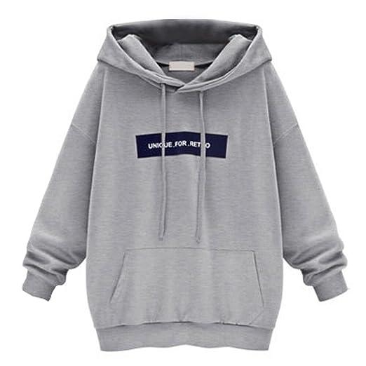 c2cbe65d1823 Damen Kapuzenpullover, Frauen Hoodies, SEWORLD Mode Frauen Langarm Brief  Gedruckt Hoodie Sweatshirt Jumper Pullover