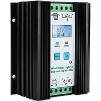 Regulador de Carga Solar eólico híbrido 12V / 24V MPPT Controlador de Carga Solar Regulador de batería del Panel Solar…