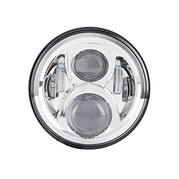 Motorcycle 7 Inch LED Headlight Head Light Lamp Projector For Harley