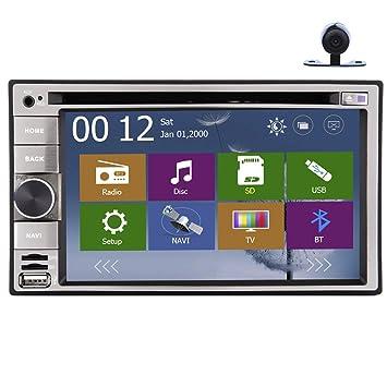Venta Caliente 6.2 Digital Screen Est¨¦reo del Coche GPS Navegaci¨