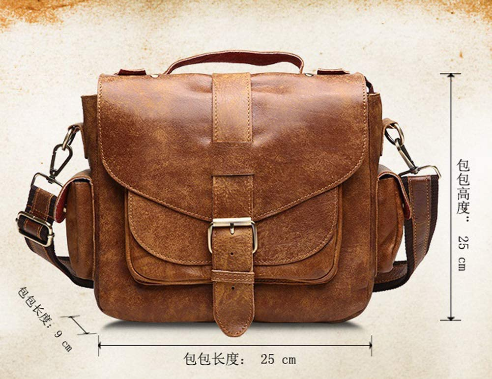 BAG Shoulder Messenger Mens Leather Fashion Tote Casual Unisex