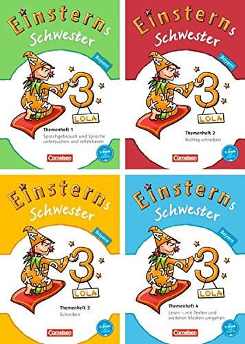 Einsterns Schwester - Sprache und Lesen - Bayern: 3. Jahrgangsstufe - 4 Themenhefte im Paket