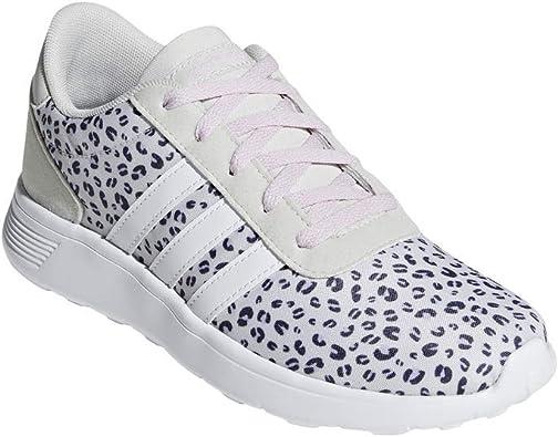 adidas - Zapatillas de Tela para niña Blanco Blanco, Color Blanco, Talla 45 1/3 EU: Amazon.es: Zapatos y complementos