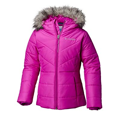 48538f5c1ac1 Amazon.com  Columbia Kids Baby Girl s Katelyn Crest Jacket (Toddler ...
