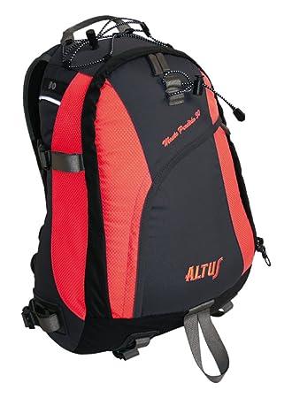 Altus Monte Perdido 30 - Mochila, unisex, color negro/rojo, talla única: Amazon.es: Deportes y aire libre