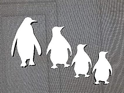 for Non-Retractable Screens 4 Figures for Non-Retractable Screens DCentral Penguin Family Screen Magnets: Multipurpose Helps to Stop Walking into Screens Double-Sided