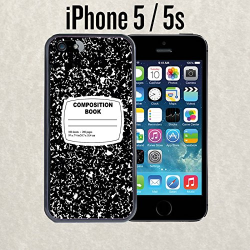 5309cfaf0 Image Unavailable. Image not available for. Color: iPhone Case Composition  Notebook Funny Retro for iPhone 5 / 5s ...