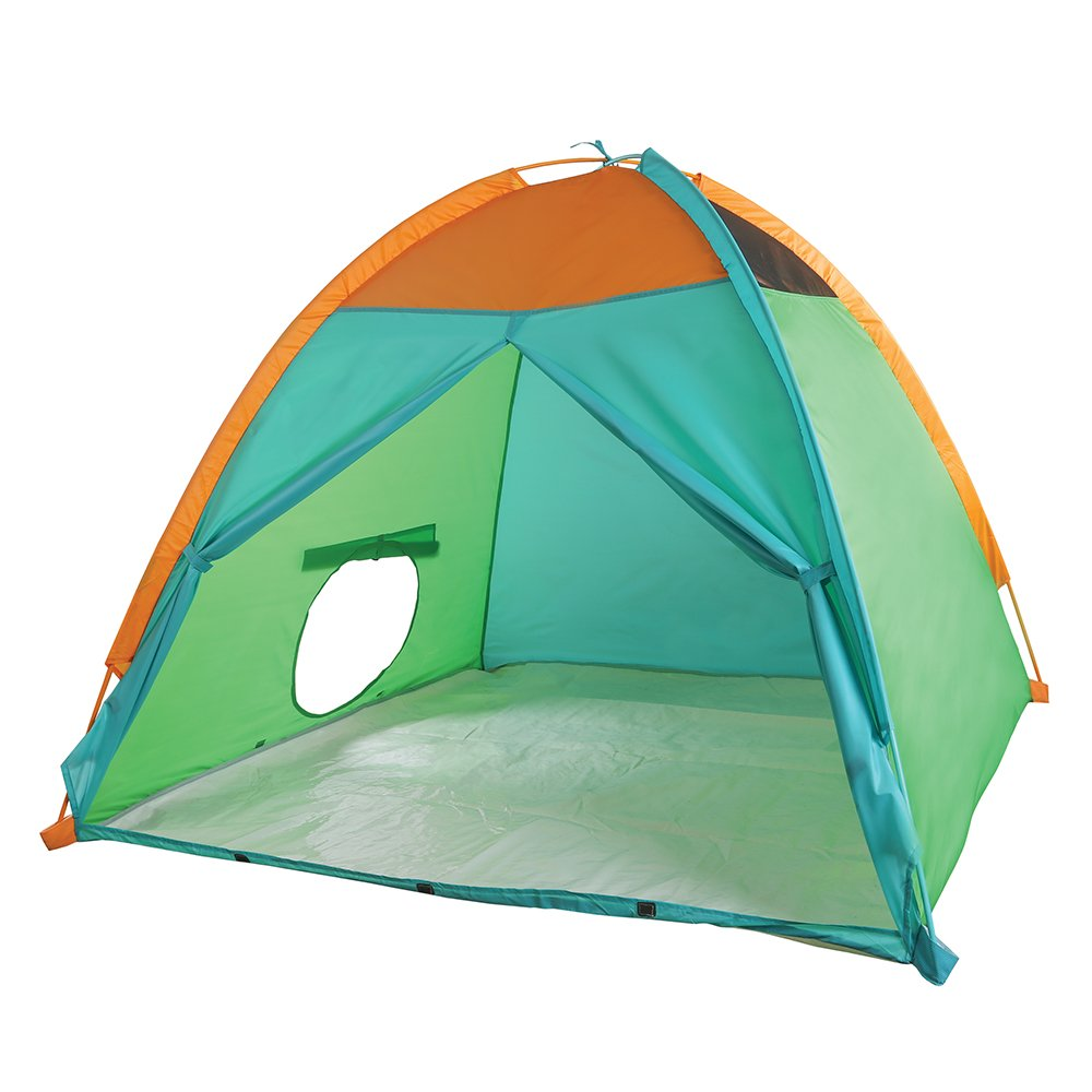 Pacific Play Tents 41205 Kids Super Duper 4-Kid II Dome Tent Playhouse, 58'' x 58'' x 46''