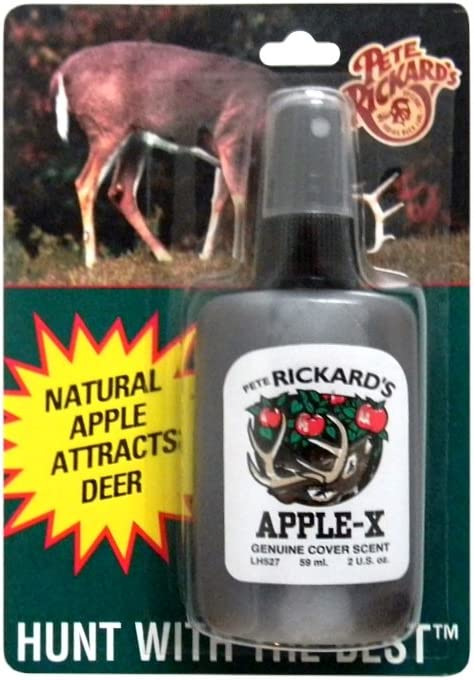 Pete Rickard's Apple-X Hunting Scent, 2-Ounce