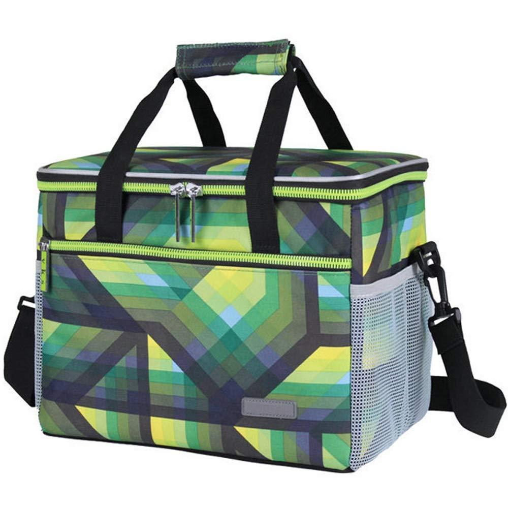 HUIFEI Picknicktasche Oxford Tuch Isolierung Kalt Wasserdicht Kreuzbein Lunchpaket 31  21  25cm (Farbe   Grün, größe   31  21  25cm) B07QCB65BT     | Zu einem niedrigeren Preis