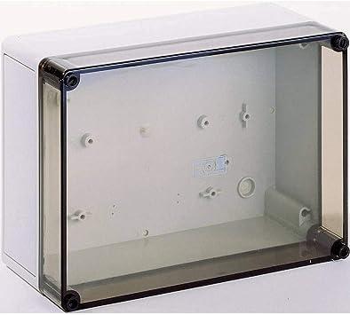 Rittal 9521.100 Poliamida, Policarbonato IP66 Caja eléctrica - Caja para Cuadro eléctrico (254 mm, 111 mm, 180 mm): Amazon.es: Bricolaje y herramientas