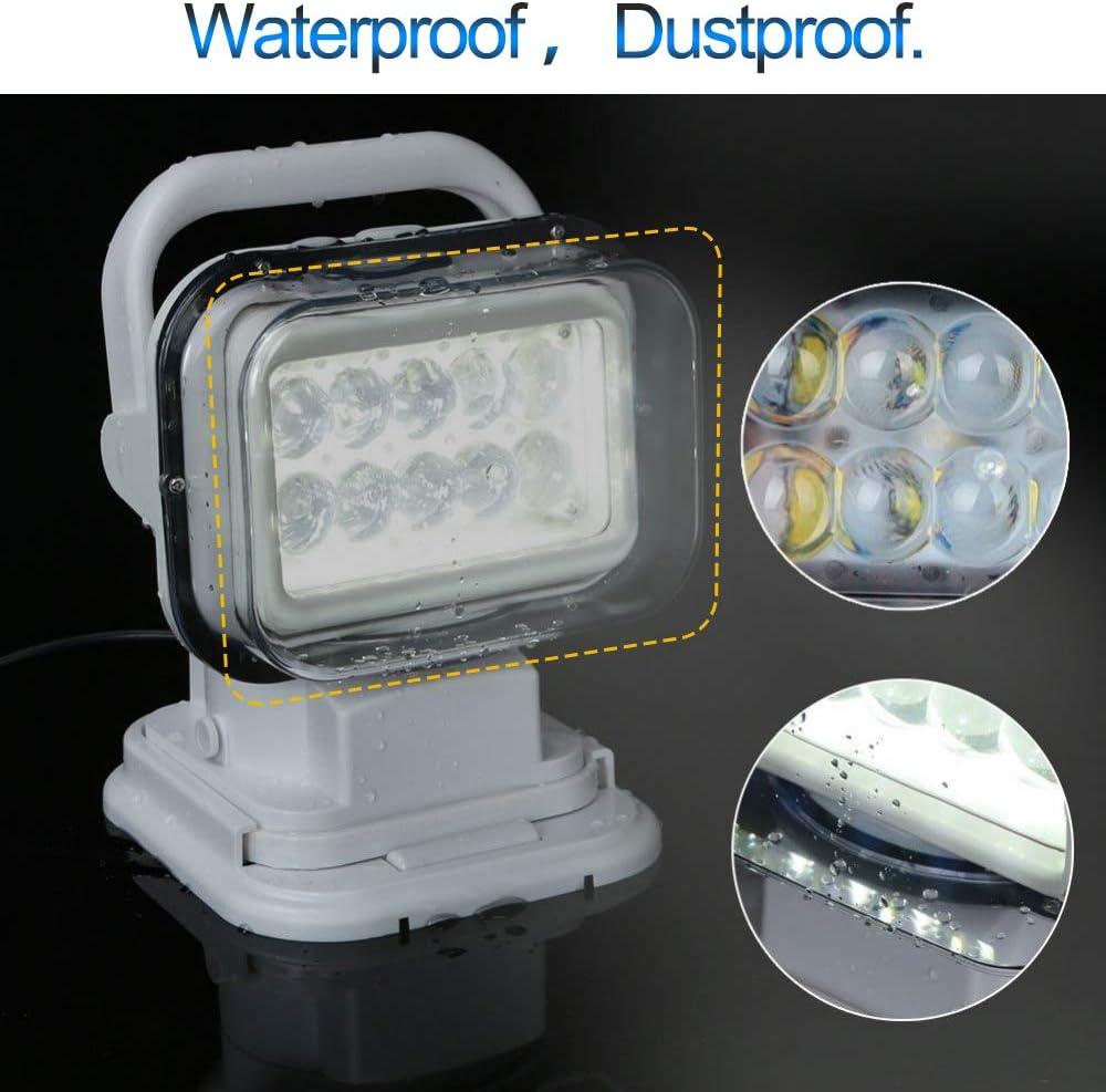 Lens Cover for QUNSUNUS LED Spotlight LED Remote Search Light