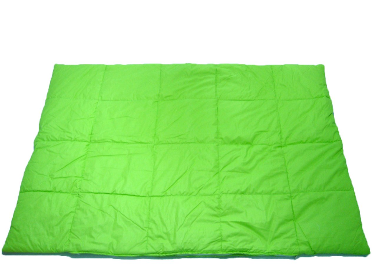Climagel Weighted Blanket - Size 2 - 6.6lbs Plain Green