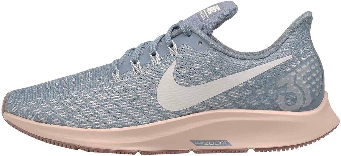 Nike Herren Leder Air Pegasus 83 Schuhe marineblaublauorange