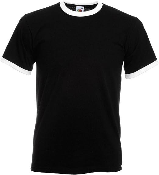 Fruit of The Loom short sleeve Baseball t-shirt Casual Sports T Shirt UK Top