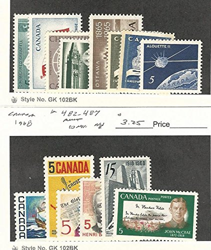 p, 438-445, 482-487 Mint NH, 1965-68 ()