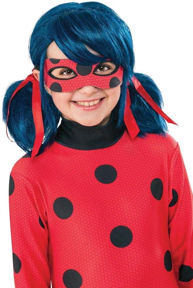 Ladybug - Peluca complemento de disfraz infantil, talla única ...