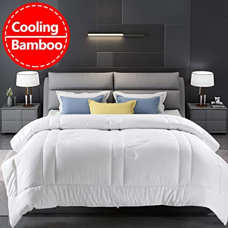 Bamboo double size bed duvet cover 100/% bamboo Cool grey Antibacterial.