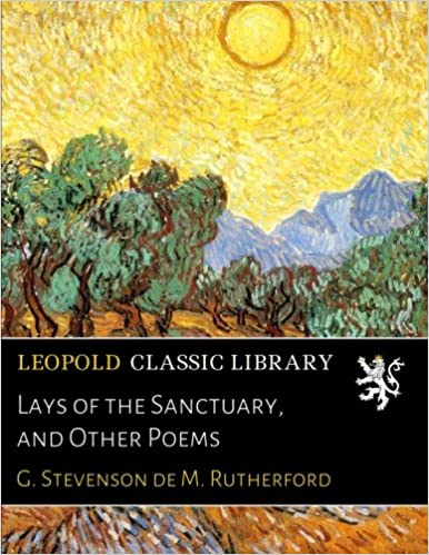 Lays of the Sanctuary, and Other Poems