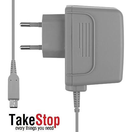 takestop Cargador ® Fuente de alimentación del Cargador para Nintendo Dsi 3Ds Ndsi DSi XL