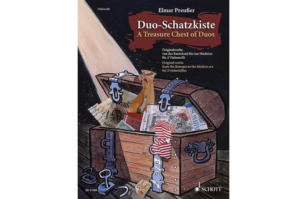 Download Schott Duo-Schatzkiste (A Treasure Chest of Duos) (Cello Duet Performance Score) String Series Softcover pdf epub