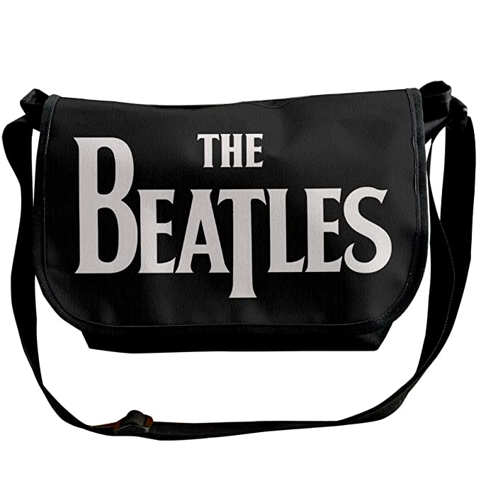 PEACE NEW STORE Messenger Bag 12 Inch The Beatles Logo Shoulder Bag For Work & College