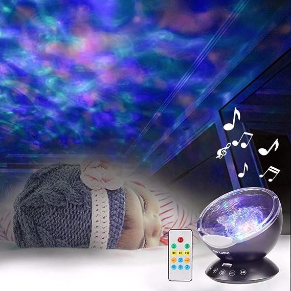 Luz Nocturna Estrella Sky Ocean Wave Reproductor De Música ...