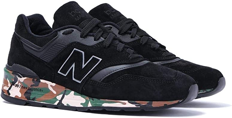 New Balance 997 Made in The USA Zapatillas de Deporte Negras y de Camuflaje