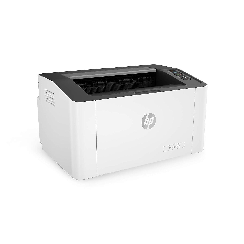 HP Laser 107w - Impresora láser (20 ppm, LED, USB 2.0 de alta ...