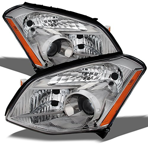 2007 Nissan Maxima Headlight - For Nissan Maxima OE Replacement Headlights Driver/Passenger Head Lamps Pair Left + Right