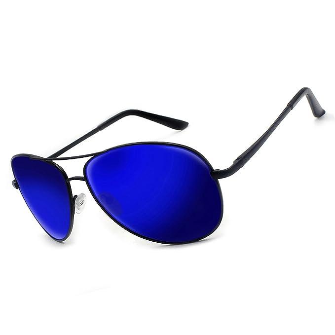 Moda gafas de sol polarizadas para hombres mujeres/Metal Aviator conducción pesca gafas de sol Deportes al aire libre Eyewear UV400: Amazon.es: Ropa y ...