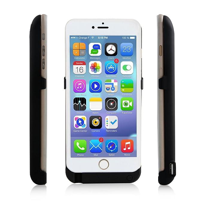 iPhone 6 Plus 10000 mAh Cargador de batería Externo Negro ...
