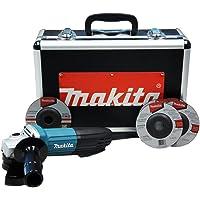 Esmerilhadeira Angular de 4-1/2 Pol. 720W 220V com 5 Discos e Maleta-MAKITA-GA4534KX