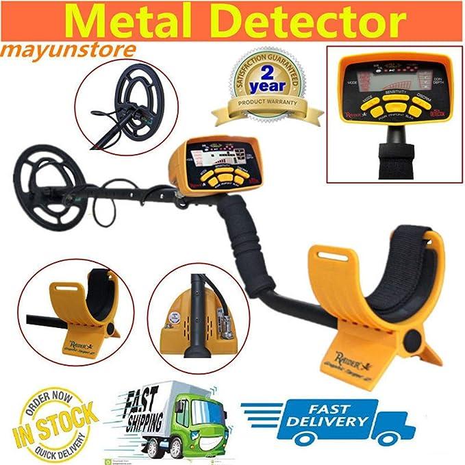 QUARK Detector de Metales Profesional de Alto Rendimiento Detector de Metales subterráneo Tres detectan Modo Monedas joyería Todo el Metal: Amazon.es: Hogar