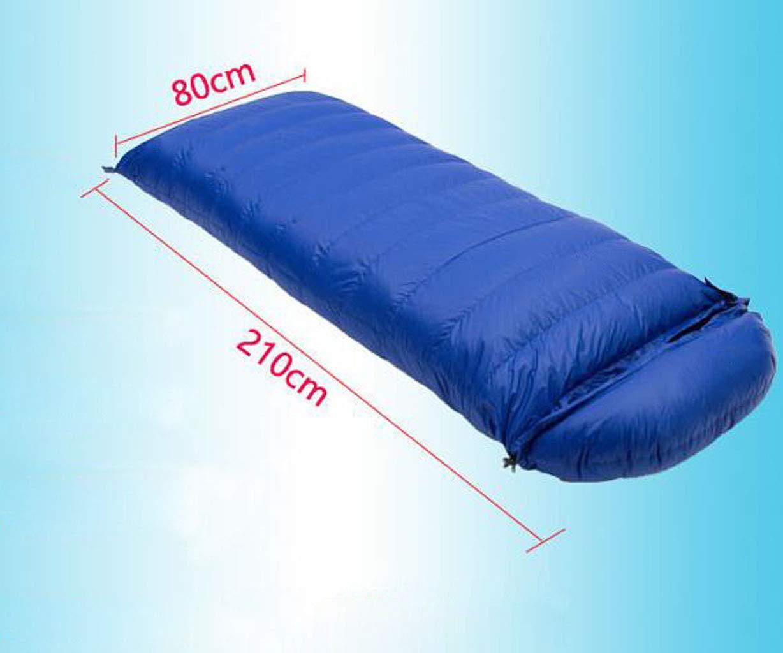JBHURF Outdoor Erwachsene Camping Schlafsack Vier Vier Vier Jahreszeiten Bergsteigen Umschlag Typ Ultraleichte Daunenschlafsack (Kapazität   0.4kg, Farbe   rot1) B07KJF6R1M Mumienschlafscke Hohe Qualität und Wirtschaftlichkeit 48d6e6