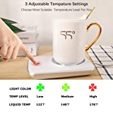 Misby Coffee Cup Warmer for Desk Rapid Heating