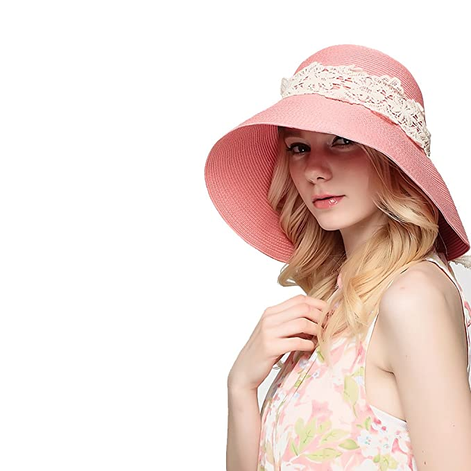 Women's Vintage Hats | Old Fashioned Hats | Retro Hats 2018 Fashionwomens Foldable Summer Sun Beach Straw Hats accessories Wide Brim $15.00 AT vintagedancer.com