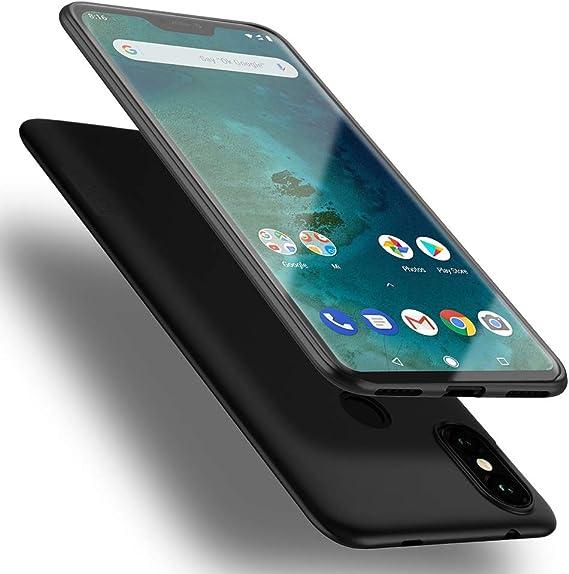 Image of X-level Funda Xiaomi Mi A2 Lite,Ultra Delgada y Ultra Slim Ligero Protective Suave TPU Carcasa Case para Xiaomi Mi A2 Lite-Nero