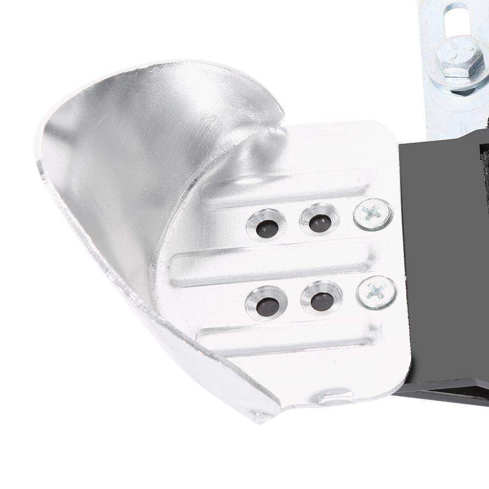 Zancos de Trabajo 24-40, Plata Aleaci/ón de Aluminio Profesional Pilotes de drywall Ajustable Alto Antideslizante Herramientas de Pared de Estuco de Soporte de Carga para Yeseros Jardineros Pintar