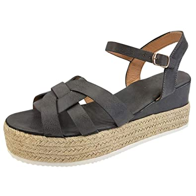 Cross Longzjhd Fingerless Sandales Plateforme Chaussures Femmes Rome 9DI2WYEH