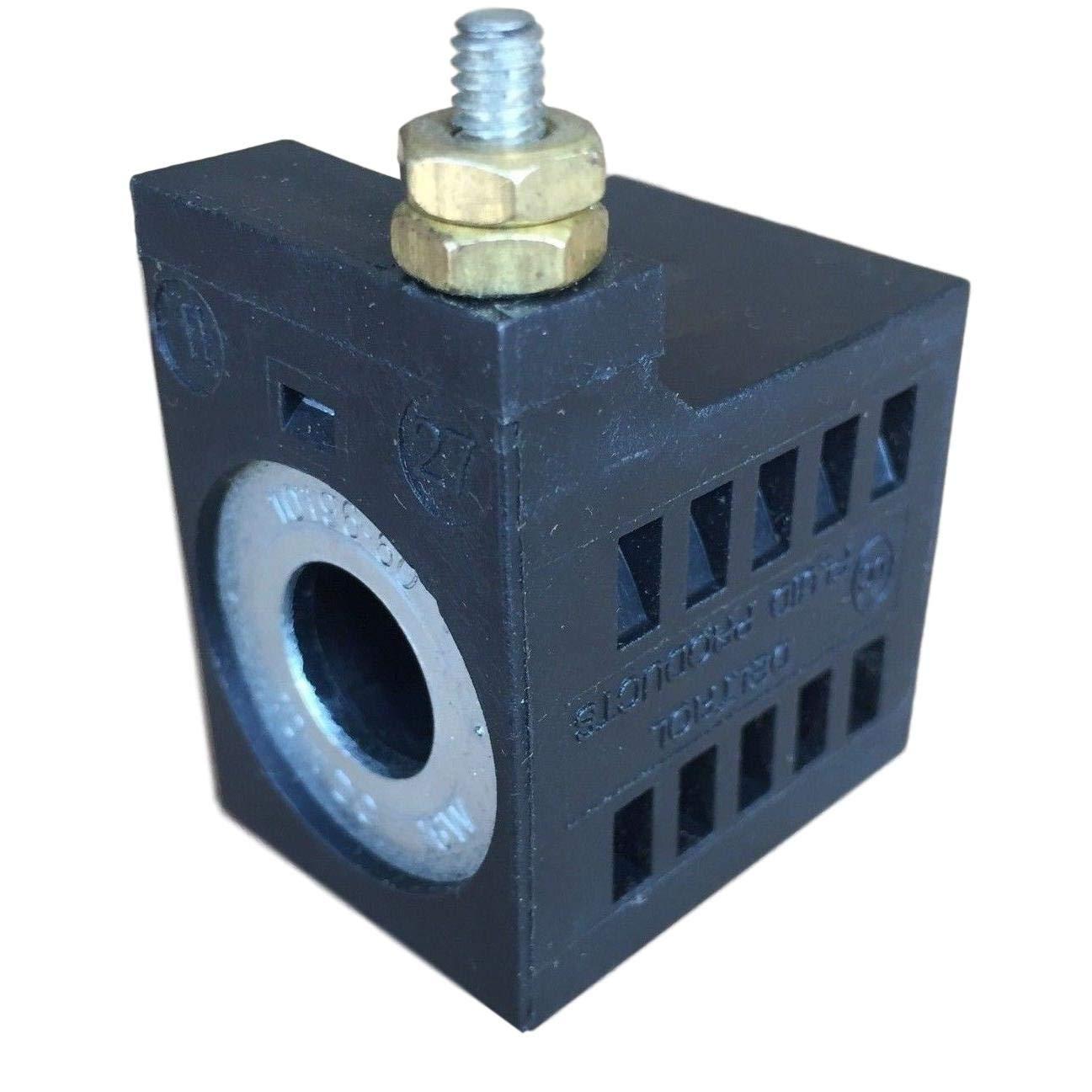 SPX Fenner Stone EF-1142 Deltrol 10196-60 10VDC Solenoid Coil 16W Single Stud